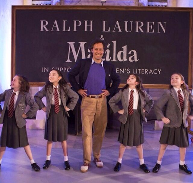 RL Kids 2014 by Matilda Broadway cast
