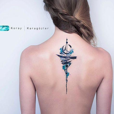 Spine Tattoo Design – TATTOO LOVE