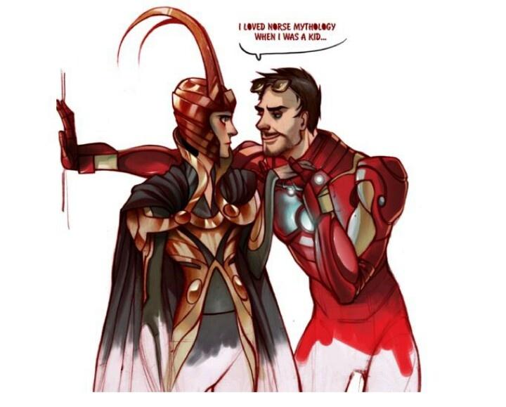 Loki × Tony