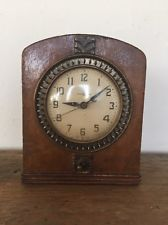 1930s VTG Art Deco Depression Era Clock General Electric Clock 8B50 ~ WORKS!