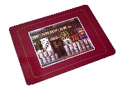 Authentic Irish bar mats from Vintage Basement - www.vintagebasement.com