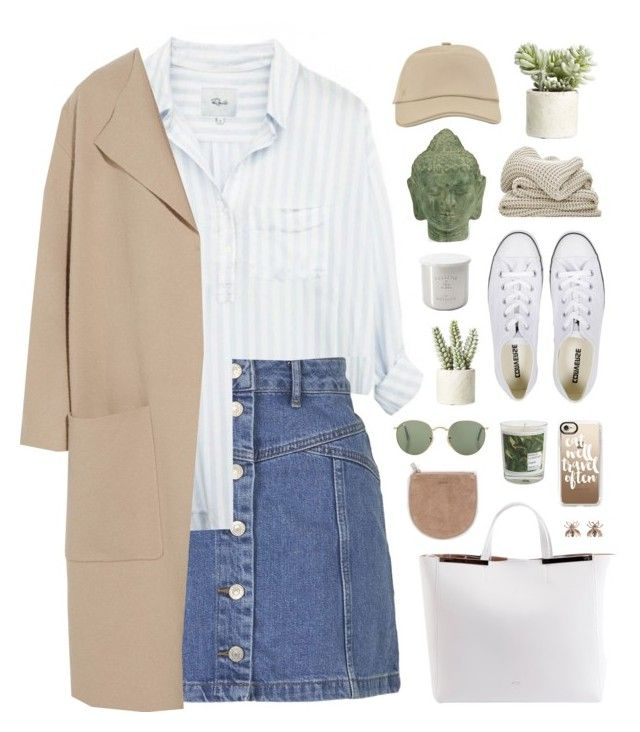 """""""little diamonds"""" by martosaur ❤ liked on Polyvore featuring Topshop, Maison La Bougie, Allstate Floral, Converse, N°21, Hermès, Vernissage, Burberry, Tom Dixon and Puji"""