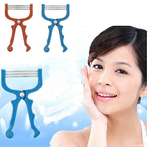New arrival! Face Roller Hair Threader Facial Hair Removal Threading Epi Smooth Beauty Tool #Affiliate