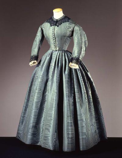 Dress, ca. 1860
