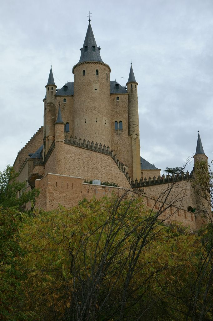 Alcázar of Segovia is a stone fortification, located in the old city of Segovia, Spain.  Flickr