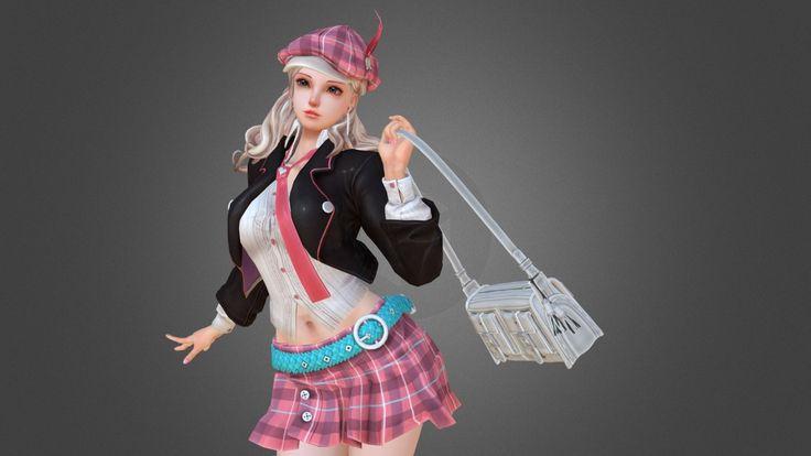 Fashion Girl by julong626