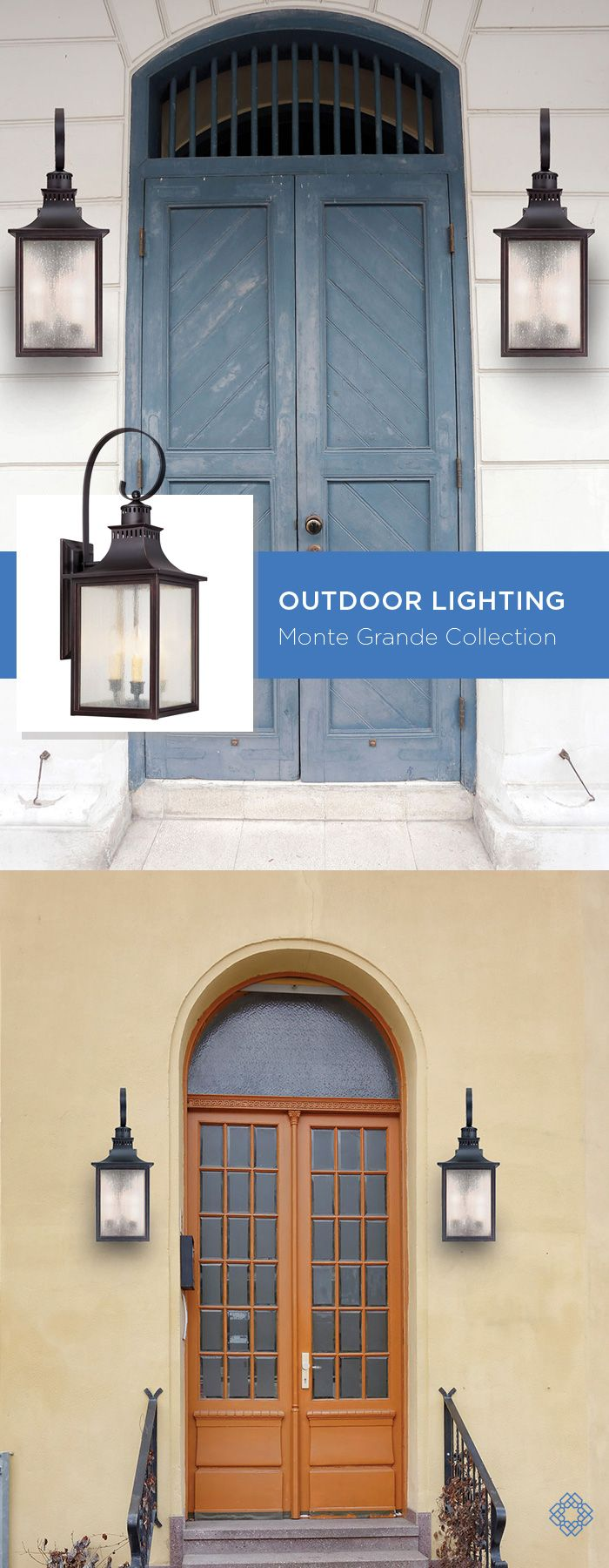 Traditional Outdoor Wall Light in English Bronze with Pale Cream Seeded glass from the Monte Grande Collection by Savoy House.