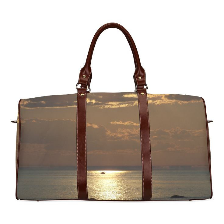Awesome Sea Scene Waterproof Travel Bag/Small (Model 1639)