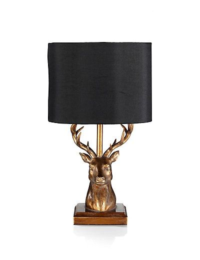Stag Table Lamp - Marks and Spencer