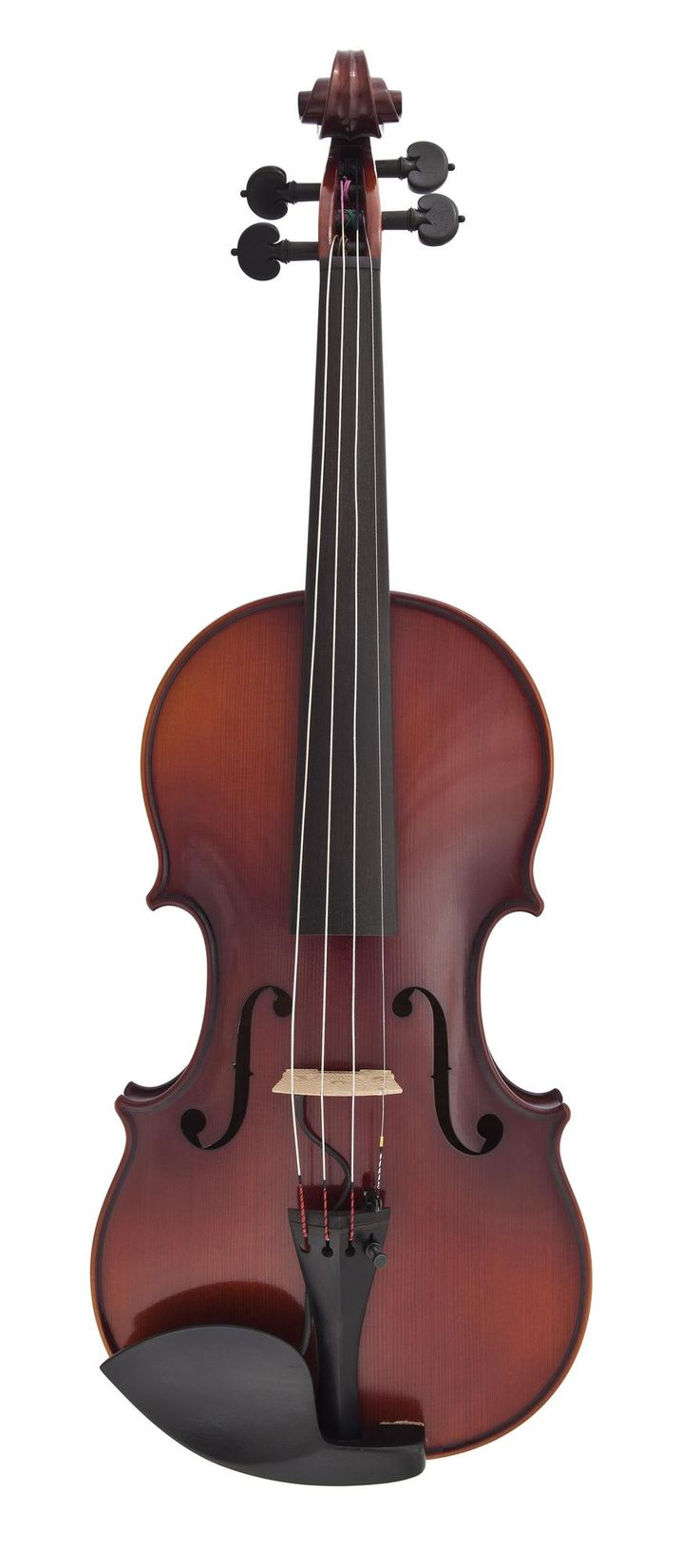 Contemporary fiddle fitted with an electronic pick-up, with bow and case: Scottish, Shetland, by Ewen Thomson, pick-up by Kenny Johnson, Shetland, 2009