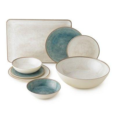 Stoneridge Melamine Dinnerware Collection #williamssonoma