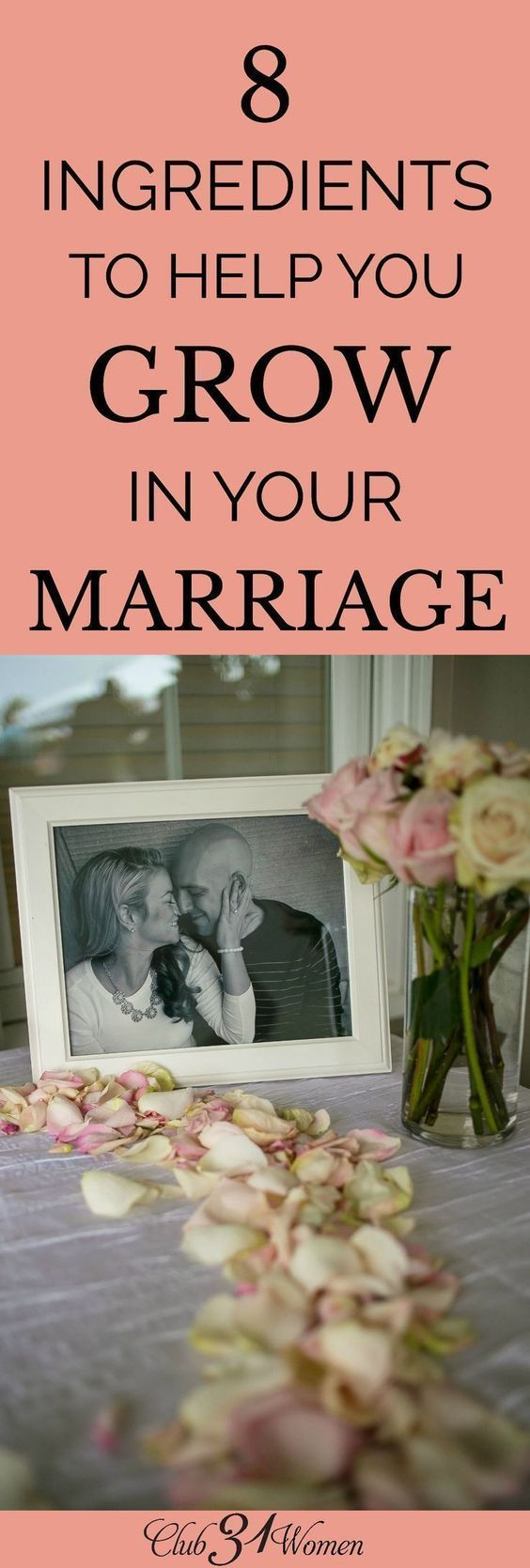 What does it take to make your marriage grow? There are some key ingredients