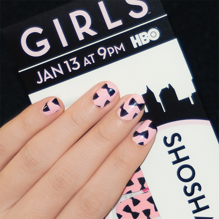 Perfect We had fun doing manicures at the HBO Girls premiere party Here us the crowd favorite