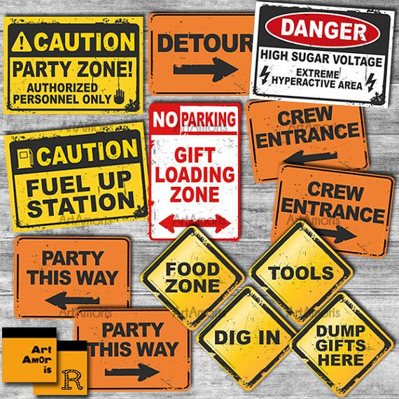 25 best ideas about construction signs on pinterest