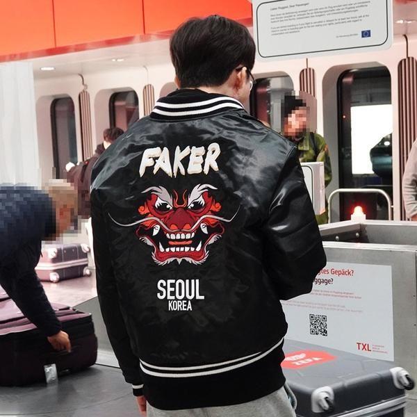 Resultado de imagem para demon king jacket faker