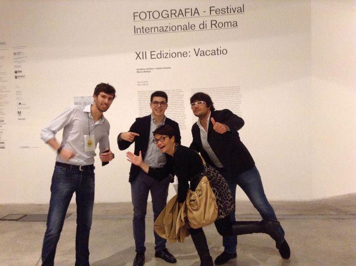 @Rosa Giuffrè @Giorgio Soffiato Siro Descrovi, Francesco Favaro. #MACRO #30IFIStour