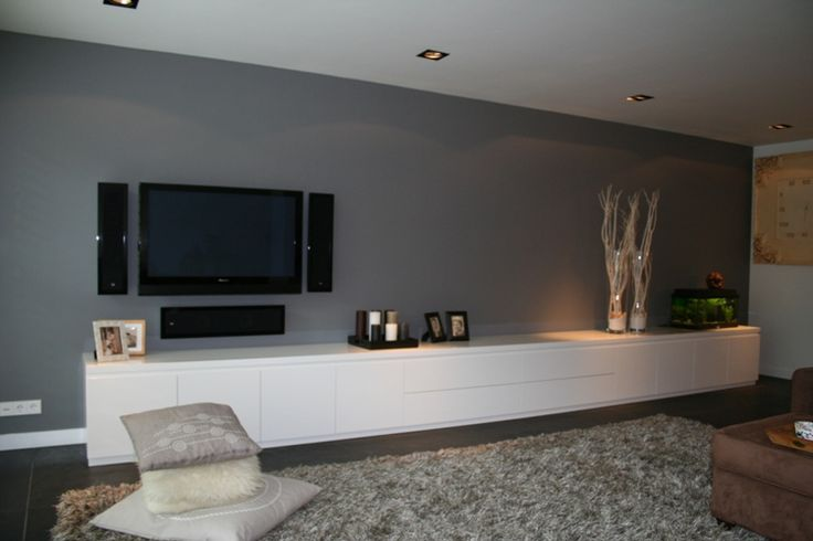 54 best Wohnzimmer images on Pinterest Tv rooms, Tv walls and Home - wohnzimmer ideen fernseher