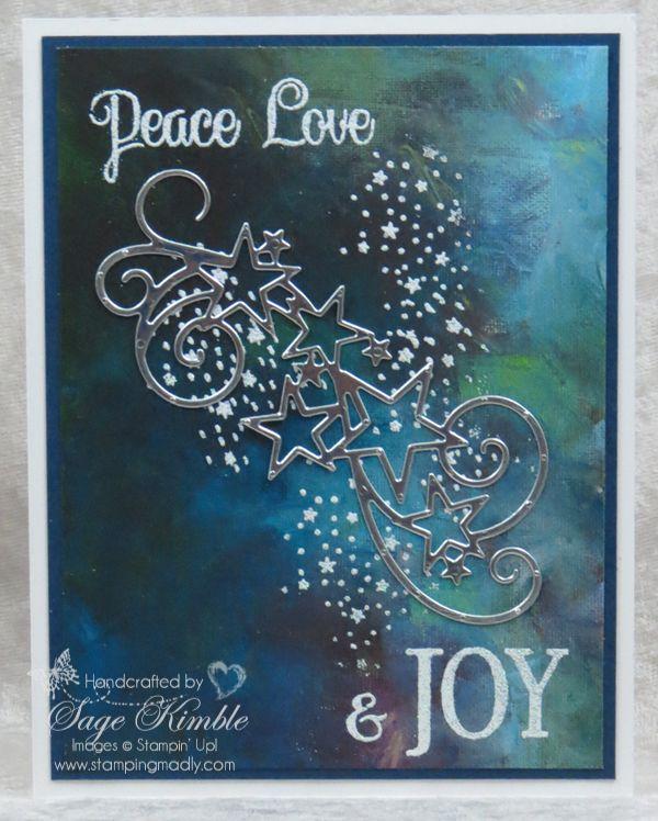 So viele Sterne, so viele Arten, frohe Weihnachten zu sagen! | Madly stampfen   – paper crafts