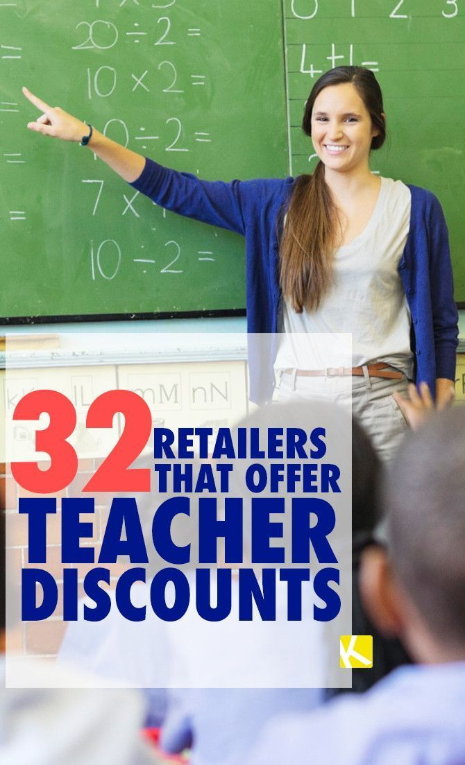32 Retailers That Offer Teacher Discounts