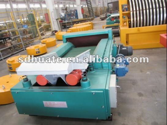 series HTECS eddy current separator for metal recycling