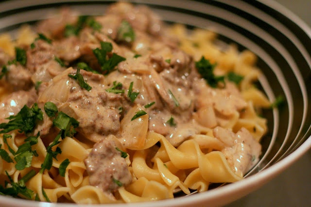 Hamburger Stroganoff | food | Pinterest