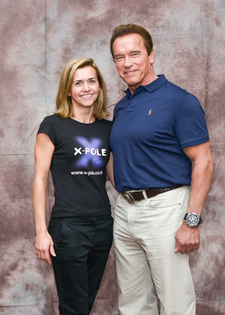 #XPole and Arnie at the first ever Arnold Classic Africa 2016 #poleatthearnold #PCS2016 #ACA2016 #XPoleSA #inpoleposition