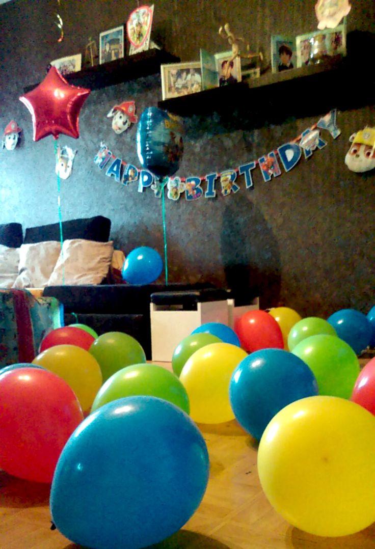 Décoration anniversaire thème Pat patrouille avec KYOKO Events.