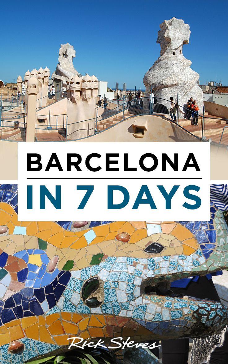 The Best Barcelona Itinerary Ricksteves Spain Traveltips