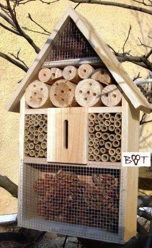 tolles insektenhotel f r ihren garten insektenhotel xxl. Black Bedroom Furniture Sets. Home Design Ideas