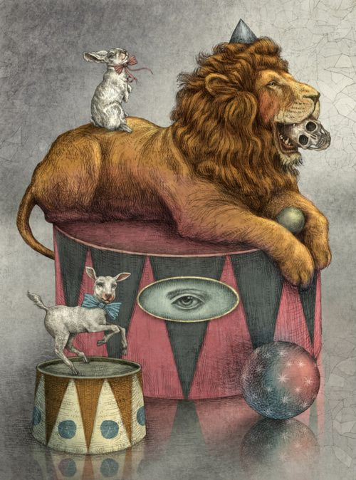 """cirque  - Being a 'Leo' this is about how we feel being controlled """"in the circus"""""""
