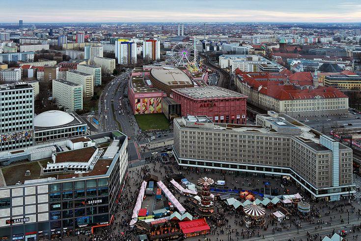 Berlin von oben (04) von Hans-Peter Möller