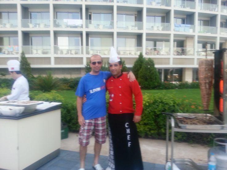 Martin na dovolenke v Turecku