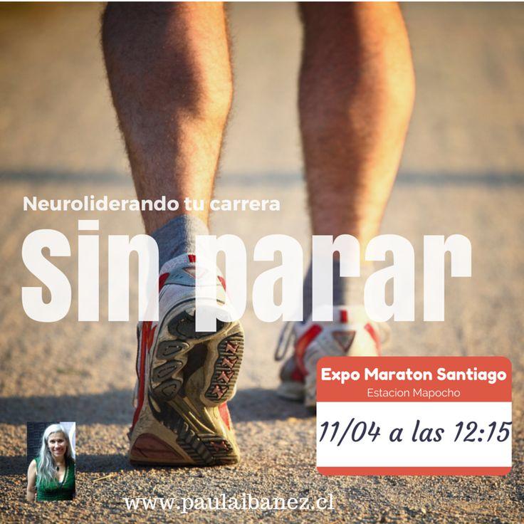 Charla en la maraton de santiago sobre como liderar las emociones  #neuroliderazgo #runner #maraton
