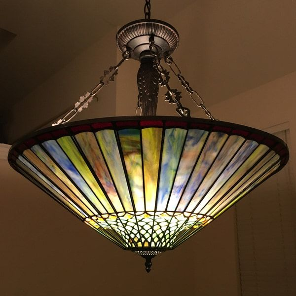 Overstock Com Online Shopping Bedding Furniture Electronics Jewelry Clothing More In 2020 Stained Glass Chandelier Tiffany Style Chandeliers Craftsman Lighting