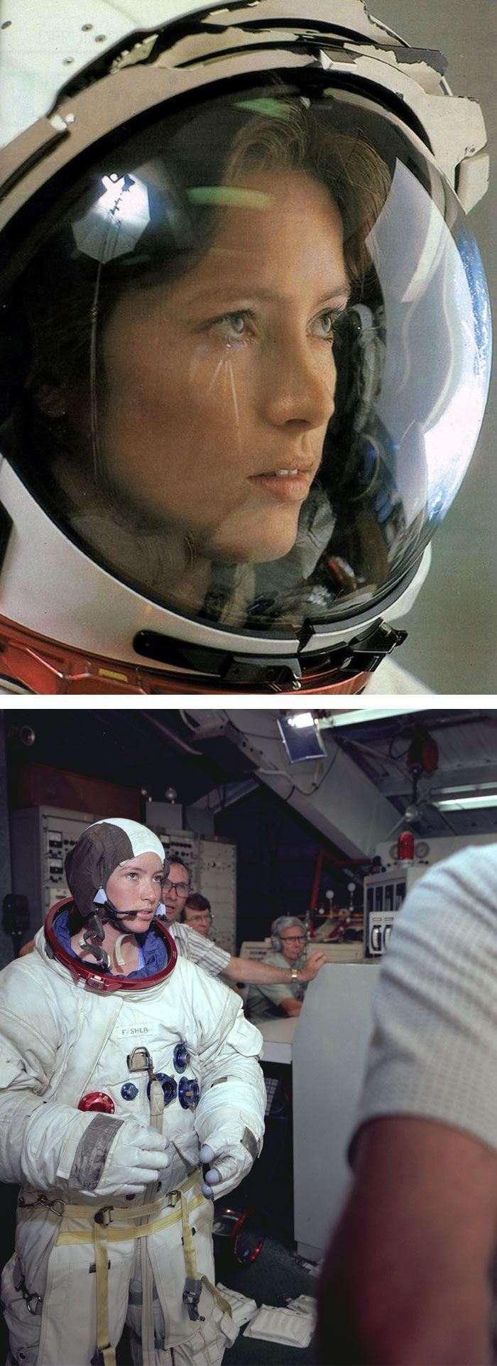NASA Astronaut Anna Lee Fisher Became The First Mother In Space (1984)