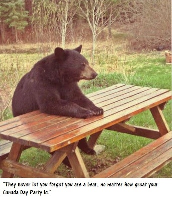 Pic-a-nic.This happened to me when I went camping, and he ate our food