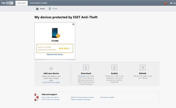 Eset Mobile Security for Android review: best of breed security with anti-theft