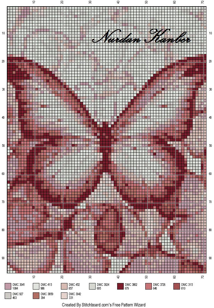 papillon (tendre couleur)
