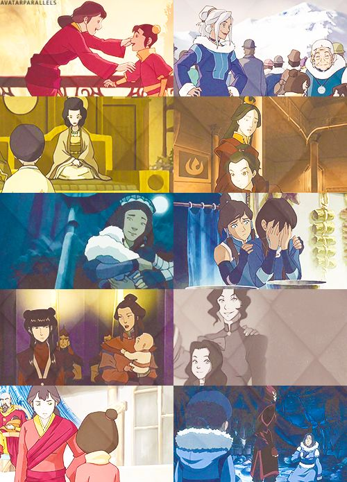 Avatar the Last Airbender/Legend of Korra: Mother-Daughter Relationships.