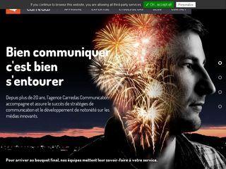 Carredas Communication est une agence de communication de Lille et du Nord-Pas-de-Calais spécialisée dans le développement de site Web, application mobile et systèmes de communication papier et numérique.