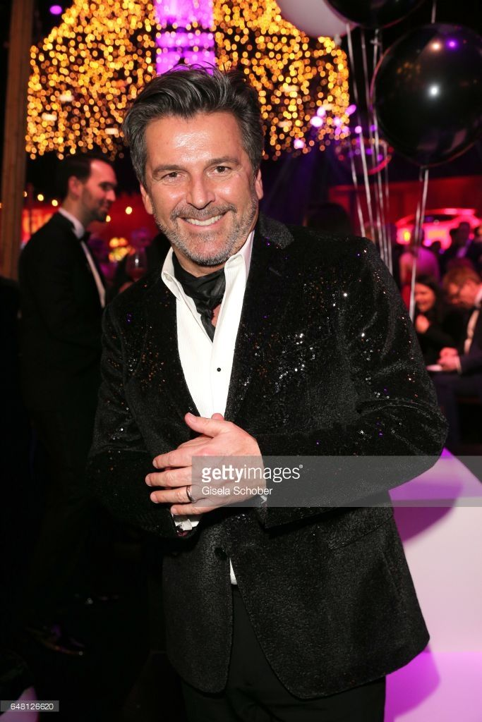 Thomas Anders during the Goldene Kamera after show party at Messe Hamburg on March 4, 2017 in Hamburg, Germany.