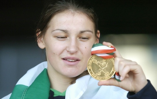 Best of luck Katie Taylor from SuperValu!