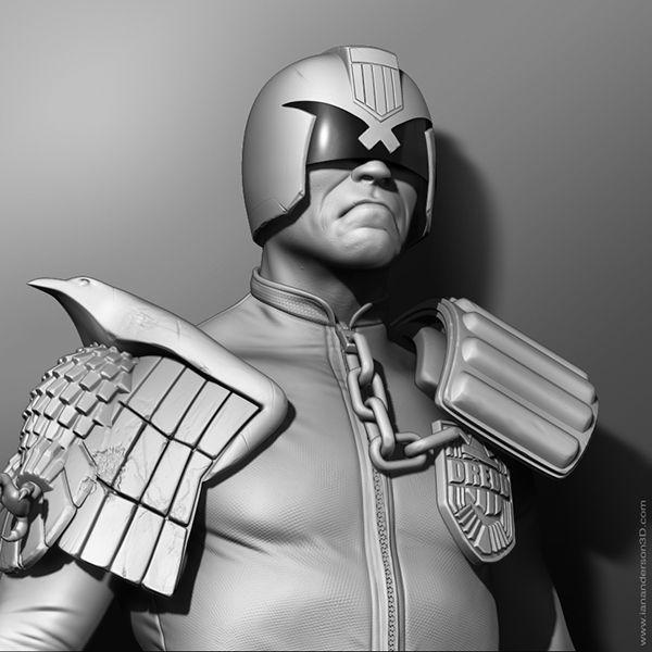 Judge Dredd Sculpt  #ZBrush