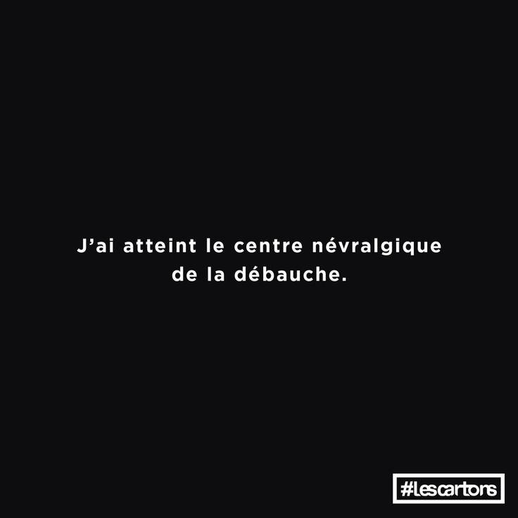 #LesCartons - débauche