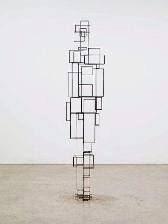 Antony Gormley, Construct VI, 2011 © Antony Gormley – Courtesy Galerie Thaddaeus Ropac #FredericClad