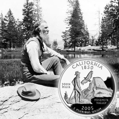 John Muir (1838-1914) was America's most famous and influential naturalist and conservationist, and founder of the Sierra Club.