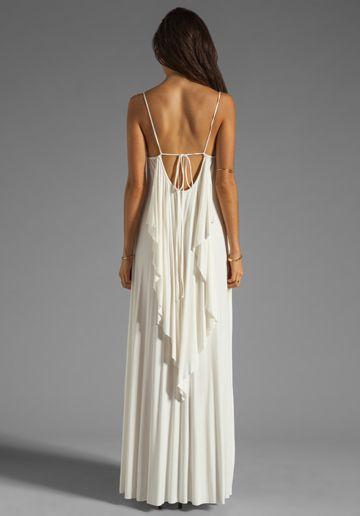 RACHEL PALLY Lyle Maxi Dress in White - Rachel Pally