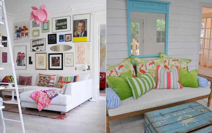 Decoração de Interiores: Almofadas
