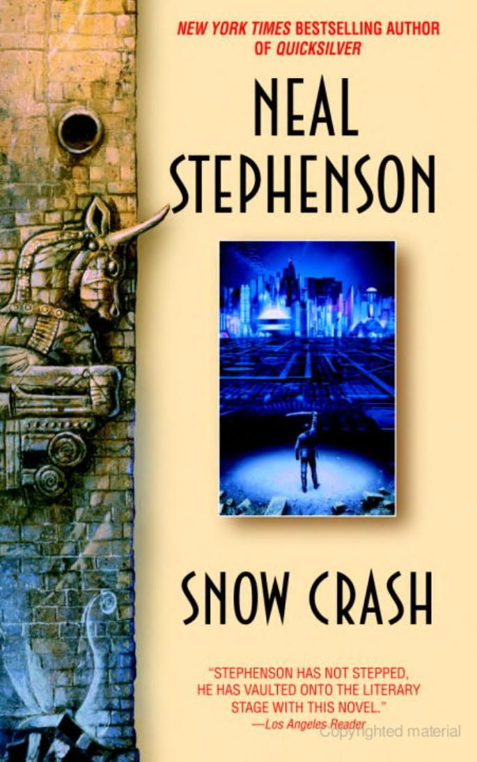 26 best cybersecurity pro reading list images on pinterest rick snow crash bantam spectra book by neal stephenson fandeluxe Choice Image