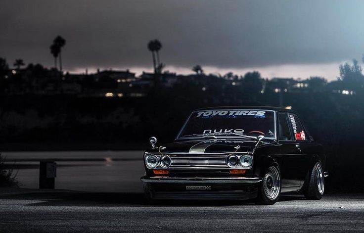 Happy #510day. Gotta give props to @dnicle for this build . Tag a friend. What's in your garage?  #datsun #datsun510 #sr20de #koyorad #toyotires #nukeperformance #chasingjs